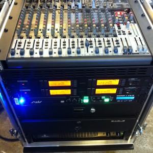 Mixere og mikrofoner